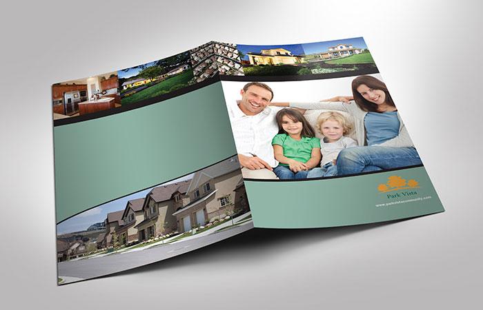 Brochure kích thước A4 là phổ biến nhất