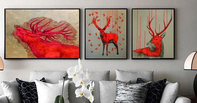 Xưởng in tranh canvas giá rẻ TPHCM – Bảng giá in canvas