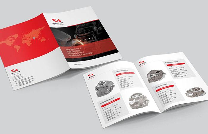 Người ta thường sản xuất catalogue số lượng lớn nên công nghệ thường dùng là công nghệ in offset
