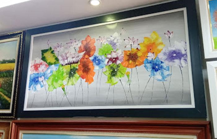 Những thành phẩm in tranh canvas tại in Hoàng Nam Sài Gòn