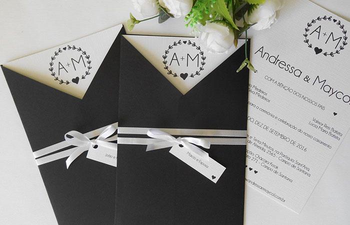 Thiệp cưới giấy mỹ thuật