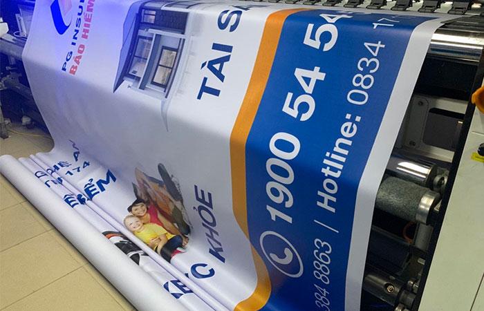 In bạt 3M là loại bạt chất lượng nhất hiện nay trên thị trường