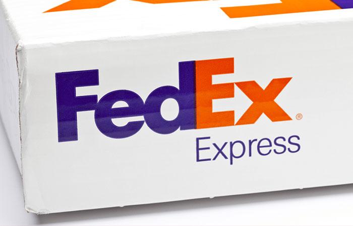 Logo của hãng vận chuyển Fedex