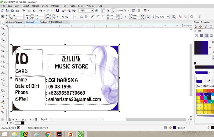 Phần mềm chuyên thiết kế name card Corel Draw