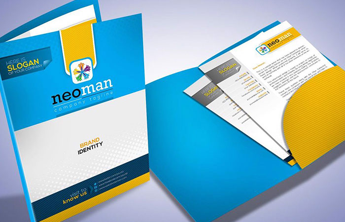 Folder sẽ là 1 công cụ quảng bá cho doanh nghiệp cực kỳ hữu ích