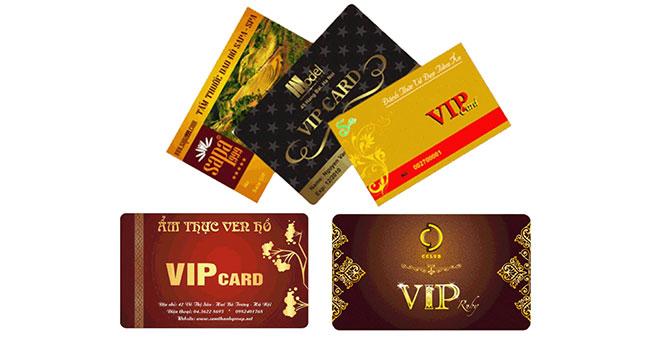 In thẻ nhựa giá rẻ, in thẻ trong suốt – Giá in thẻ nhựa HCM