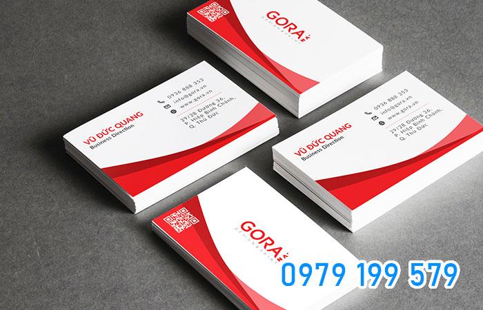 Logo và tagline là thứ cần có trên thiết kế 1 tấm name card