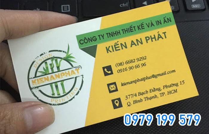 Những thông tin cơ bản ghi trên card visit